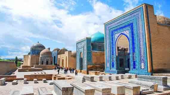 Shahi-Zinda-Necropolis Samarkand