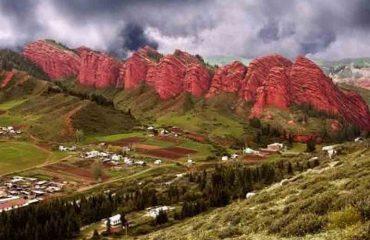 Seven Bulls Rocks Bokonbaev