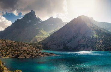 Seven Lake, Tajikistan.