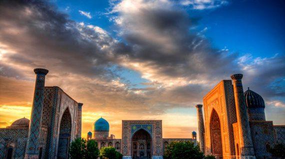 Registon Square, Samarkand